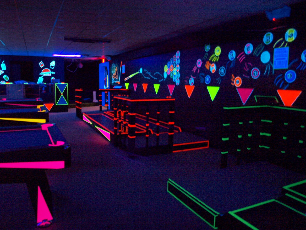 Glow-A-Rama Entertainment Complex